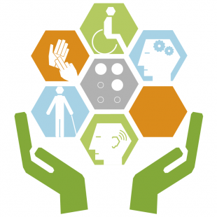 The logo of the Disabled Employee Network.
