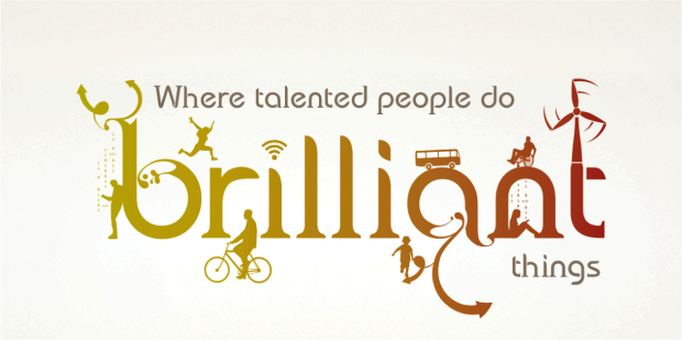 Civil Service logo saying: 'Where talented people do brilliant things.'