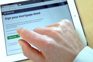 Using our new 'Sign your mortgage deed' service on an iPad