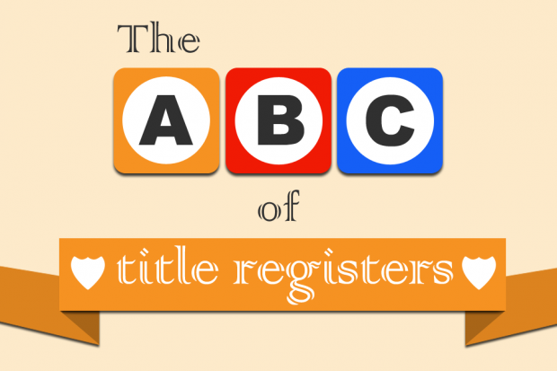 The ABC of title registers