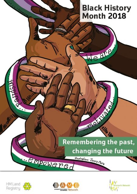 Black History Month 2018. Remembering the past, changing the future.